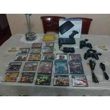 Playstation 2 Impecable Con Juegos Y Accesorios