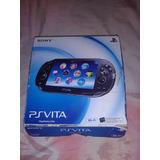 Psvita Sony + 4 Juegos + Memoria Totalmente Nuevo