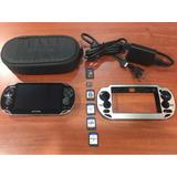 Consola Sony Psvita Juegos Memoria Estuche Forro Pch-1001