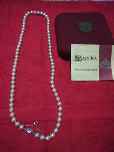 24bf5fbce19f Collar De Perlas Majoricas Legítimas