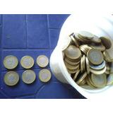 Monedas Venezolanas Bordes Dorados Año 2005 07 09 No Imantan