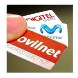 Lineas 2g 3g Movistar Digitel Movilnet + Plan Economico