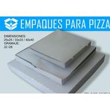 Cajas De Pizza Mediana 33x33 Cm