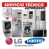 Servicios Tecnico Autorizado Samsung LG Nevera Lavadora Seca