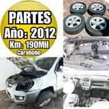 Repuestos Kia Sportage / Hyundai Tucson 2008 - 2012