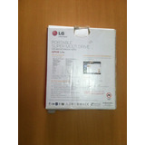 Unidad Dvd/cd Externa. Original Lg. Multidriver Portable.