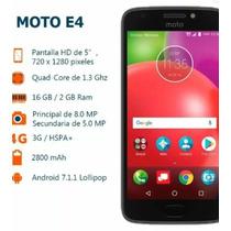 Moto E4 Con Sensor De Huellas  Quadcore 16gb 2gb No Dual Sim