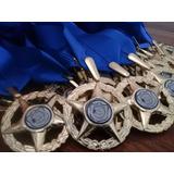 Medallas 5 Puntas , Graduaciones , Deportes (kits  12 Unid)