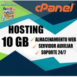 Hosting Anual + Cpanel + Dominio + Pagina Web En Wordpress
