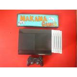 Playstation 3 Super Slim 10 Juegos Un Control Garantia