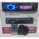 Reproductor Pioneer Bluetooth De Carro Mp3 Usb Radio Control