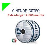 Cinta Riego Goteo Importada Manguera Filtro Conector Valvula