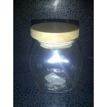 Envase Hermético Con Tapa De Madera Casa Bella 2524 Xavi