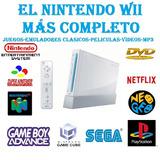 El Mas Actualizado Y Avanzado Nintendo Wii + 20 Juegos!!!