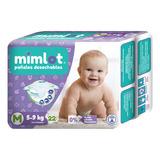 Pañales Bebe Mimlot Talla M - Por Bulto