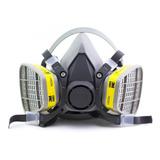 Mascara Media Cara 3m 6200 Con Filtros Incluidos
