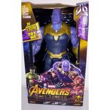 Muñeco Thanos Hulk Capitan America Pantera Negra Ironspider