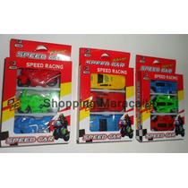 Carros Motos Para Niños Set De 3 Carritos  *  Tienda Fisica