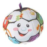 Balón De Fútbol Fisher-price Ríe Y Aprende Cantando
