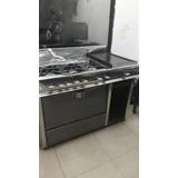 Cocina Industrial De 6 Hornillas Con Plancha