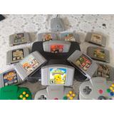 Nintendo 64 11 Juegos 3 Controles Y Extras Impecable