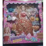 Muñeca Tipo Barbie Con Hija Beauty My Girl Con Accesorios