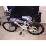 Bicicletas Tipo Bmx Rin 20 Azul