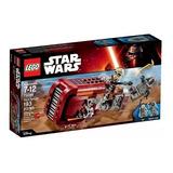 Lego Star Wars Rey's Speeder 75099 Star Wars Toy New