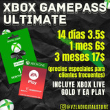 Xbox Live Gold + Game Pass Ultimate One 360 Series X S Pc
