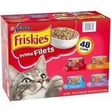 Friskies Comida Humeda Gatos Caja De 48 Gravy Prime Filets