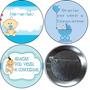 6 Chapas Prendedor Para Baby Shower