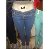 Jeans Pantalónes De Dama A La Moda