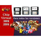 Chip Virtual Nintendo 2ds 3ds 3ds Xl + Juegos Sin R4