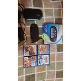 Psvita Sony Original Wifi + Accesorios Y Juegos