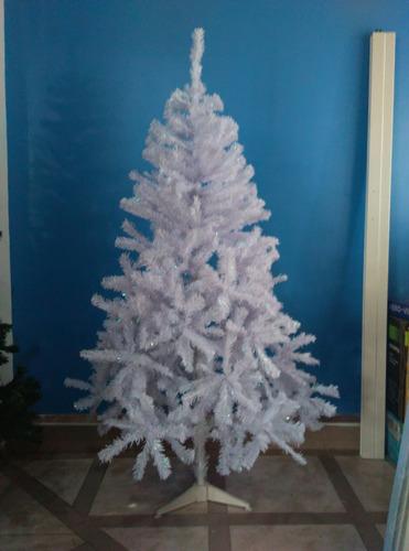 Arbol de navidad blanco 1 7 metros 525 ramas bs - Arboles de navidad precios ...