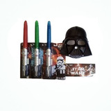 Kit Star Wars Mascara + Espada Sable Laser Combo2 En 1 Niños