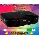 Video Beam Epson S10+ Powerlite Nuevo Sellado Con Accesorios