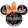 Tarjetas De Invitacion Minnie Mouse Hallowen - Invitaciones