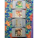 Juegos Nintendo 64 Super Mario 64 Mario Kart 007 Mario Party
