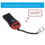 Lector De Memoria (2 Unidades) Card Reader Usb 2.0 Micro Sd