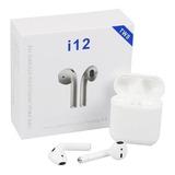 Audifonos Auriculares Inalambricos Bluetooth I12 Tipo Airpod
