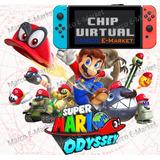 Chip Virtual Para Nintendo Switch + Super Mario Odyssey