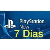 Playstation Now 7 Días + Plus 14 Días