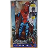 Spiderman Gigante Sonidos Luces 30cm Juguete Super Heroe