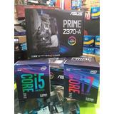 Combo I5 9600k Mas Z370 Prime Socket 1151 Somos Tienda