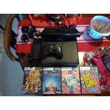 Xbox 360 Original  Con 4 Juegos Leer Bien