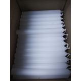 Velas Blancas Grandes 16 Cm Y 12 Cm, Por Caja O Detal