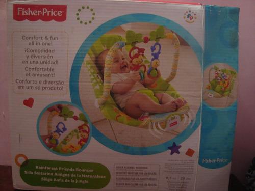 f58ea9771 Silla Vibradora Fisher Price (amigos De La Naturaleza)