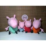 Familia Pig / Peppa / George / Papá Cerdito / Mamá Cerdita