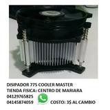 Fan Cooler Disipador Socket 775 Cooler Master